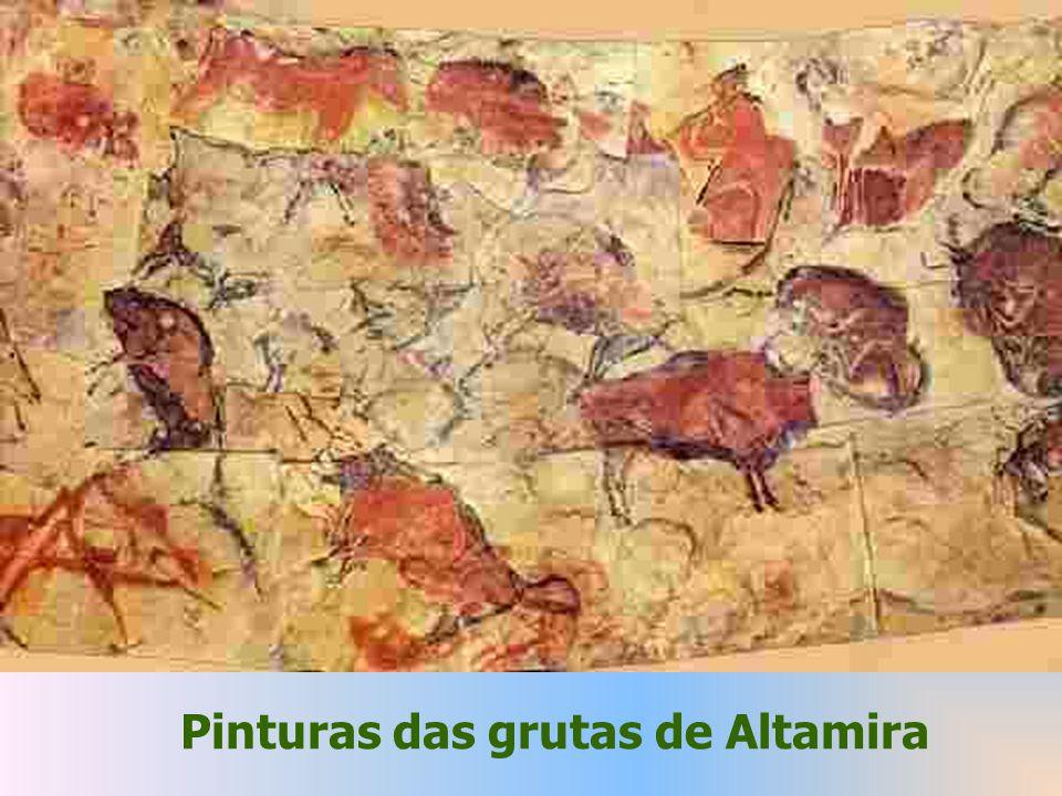 Pinturas das grutas de Altamira