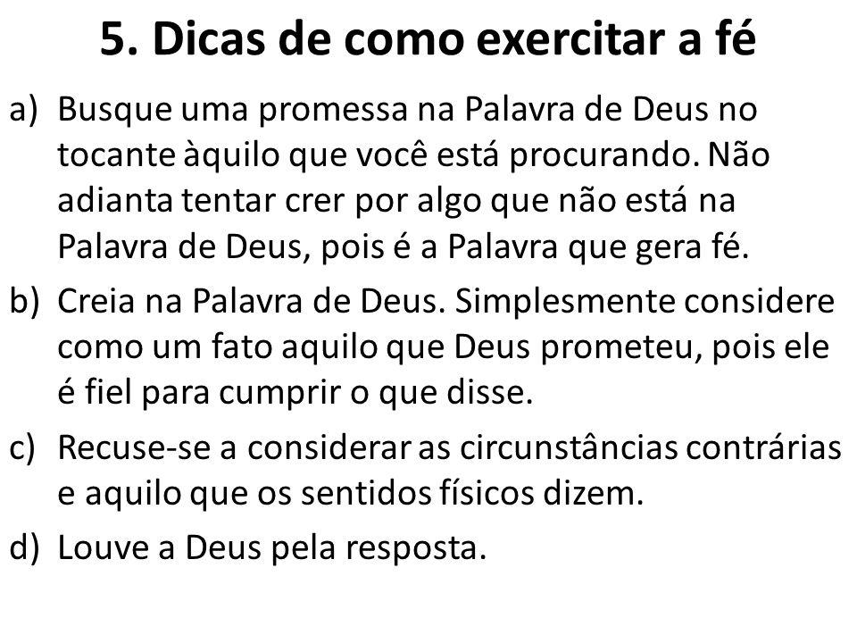6.Confissão e fé Segundo o dicionário, confessar é reconhecer ou admitir, é declarar fé em algo.