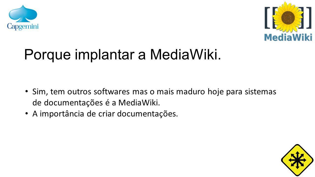 Como instalar a MediaWiki.