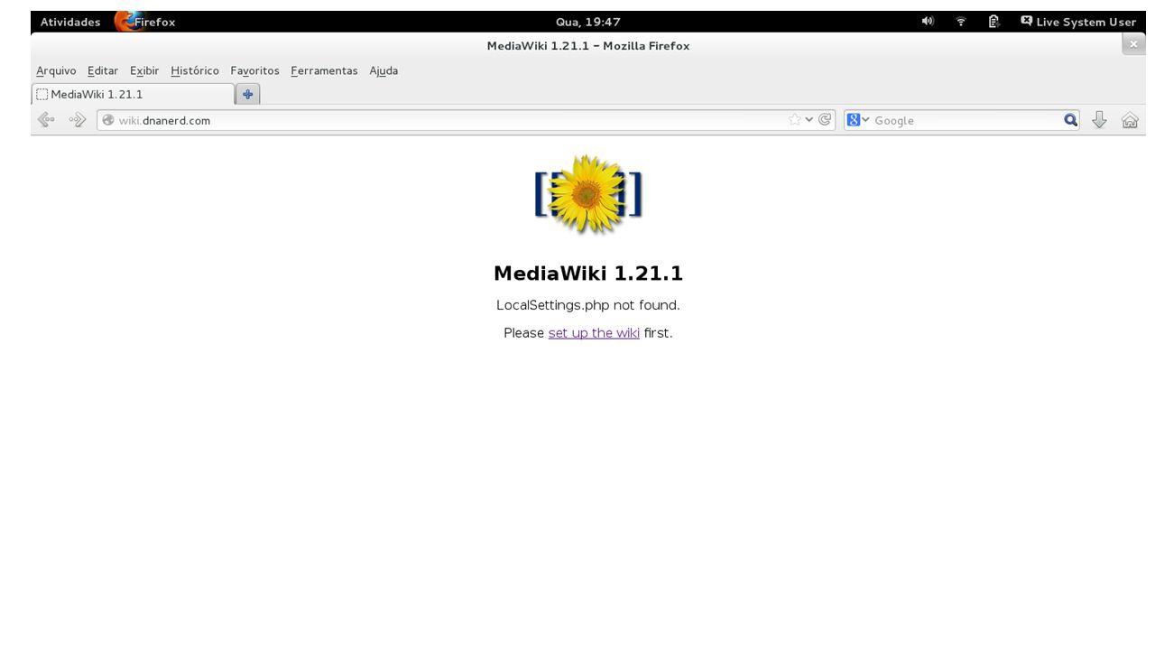 Instalação do Lucene-Search, do projeto apache; Sim, existem outros buscadores; O Lucene-Search é o mesmo buscador usado por grandes colaboradores como o Wikipedia; É atualmente o melhor buscador para MediaWiki; Principal diferença com o buscador padrão da wiki.