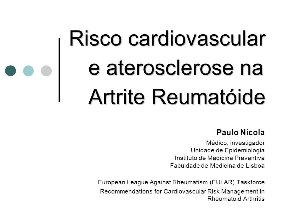 IX Jornadas da A.N.D.A.R.Excesso de mortalidade na AR Nicola PJ et al.