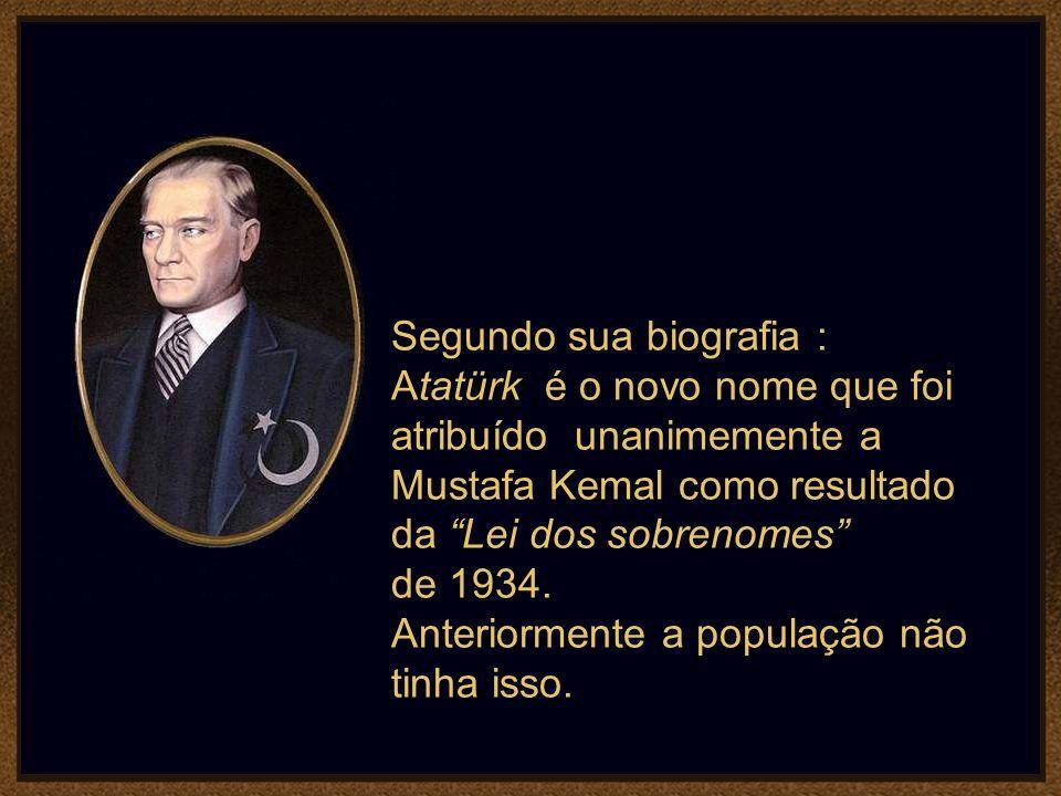 Mustafa Kemal Atatürk, foi o fundador e primeiro Presidente da República da Turquia, utilizou o Palácio como residência presidencial durante os verões
