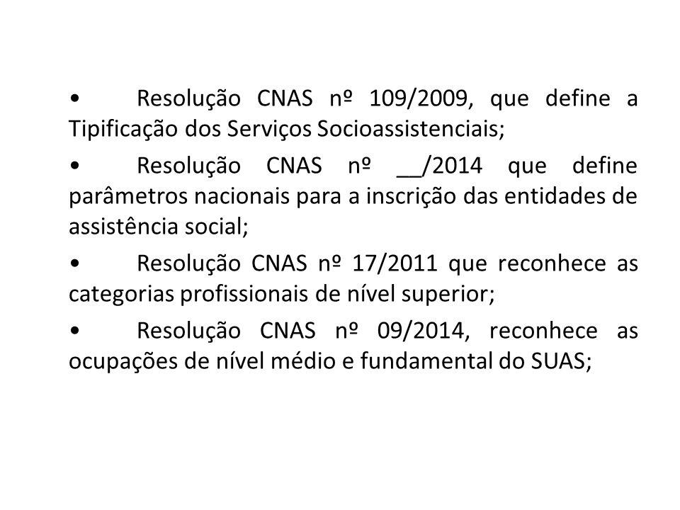 Organizações de usuários(as) e representantes de usuários(as): Segundo a Resolução CNAS nº 24/2006, as organizações de usuários(as) devem garantir estatutariamente a participação desses(as) em seus órgãos diretivos e decisórios.