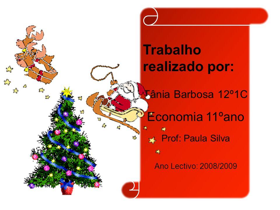 Trabalho realizado por: Tânia Barbosa 12º1C Economia 11ºano Prof: Paula Silva Ano Lectivo: 2008/2009