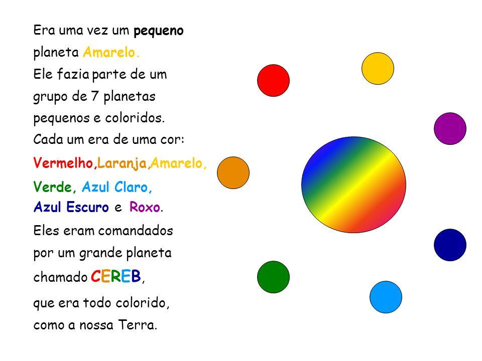Esse slide foi feito por Luana Rodrigues. www.luannarj.hpg.ig.com.br Luannarj@uol.com.br Eles eram comandados por um grande planeta chamado CEREB, Ele