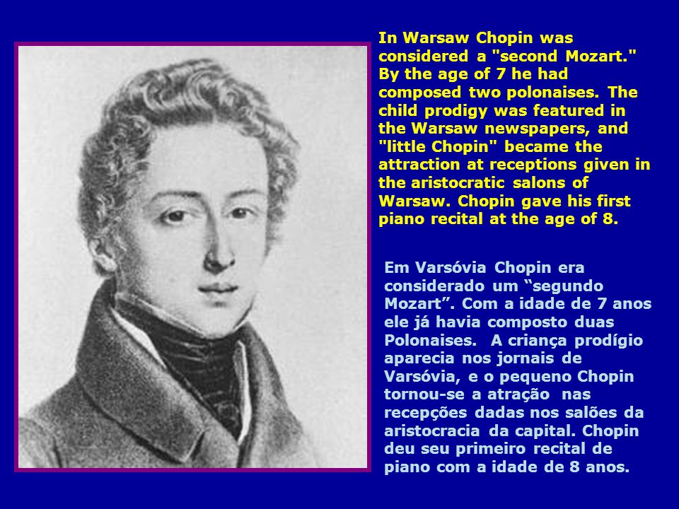 Chopin requested that Mozart s Requiem be sung at his funeral, at the Church of the Madeleine, and attended by nearly 3,000 people; this church didnt allow female singers in its choir,and the funeral was delayed for almost 2 weeks, until the church finally granted Chopin s final wish.