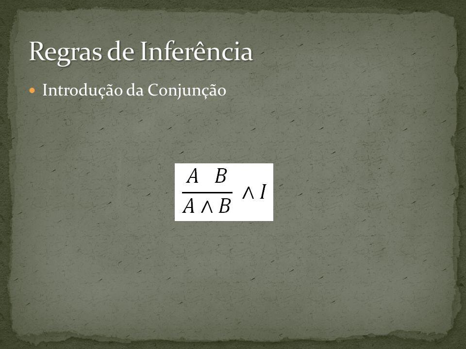 Introdução da Conjunção