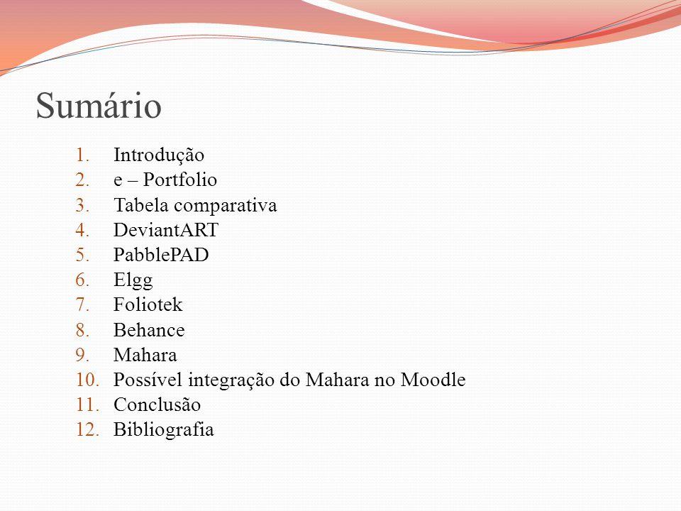 6 Elgg É uma ferramenta de software livre, criada em 2004 Esta permite, por exemplo, a criação de: 13 Redes de amigos e-PortfoliosFórunsComunidades