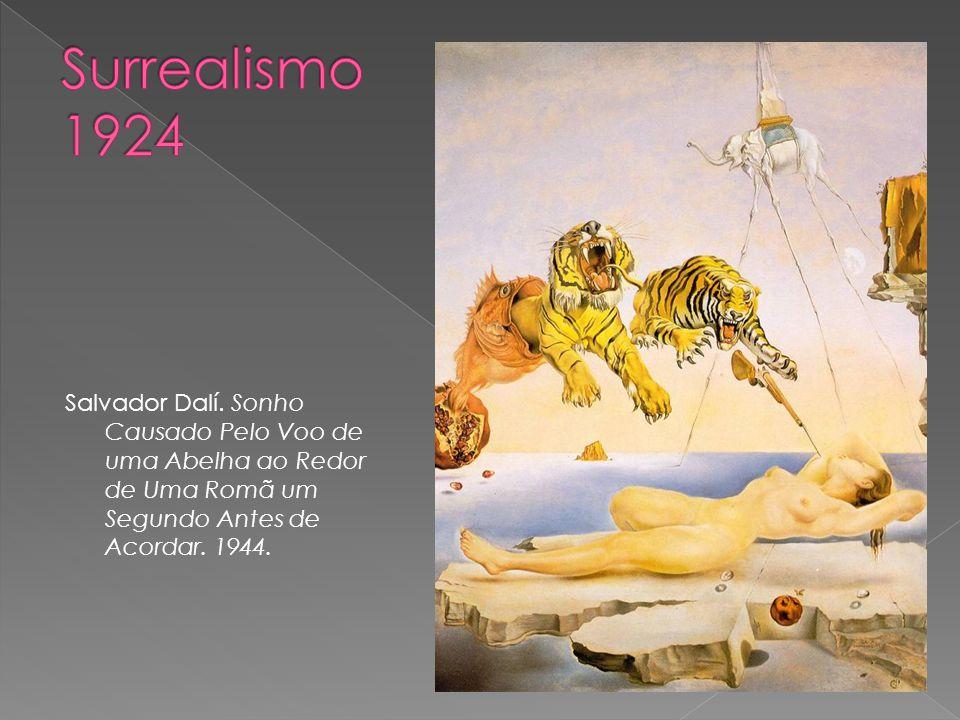 Salvador Dalí. Sonho Causado Pelo Voo de uma Abelha ao Redor de Uma Romã um Segundo Antes de Acordar. 1944.