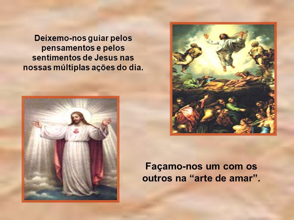 Se, portanto, ressuscitastes com Cristo, buscai as coisas lá do alto, onde Cristo está sentado à direita de Deus. Afeiçoai-vos às coisas lá de cima, e