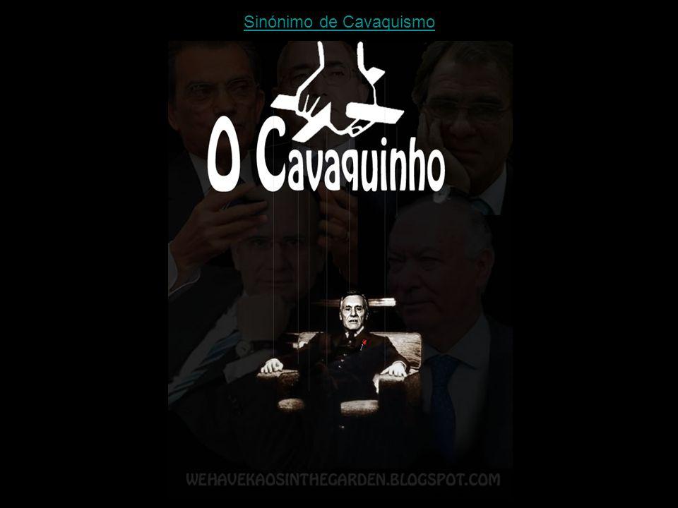 Sinónimo de Cavaquismo
