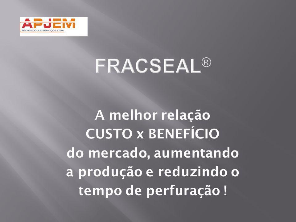 A melhor relação CUSTO x BENEFÍCIO do mercado, aumentando a produção e reduzindo o tempo de perfuração !