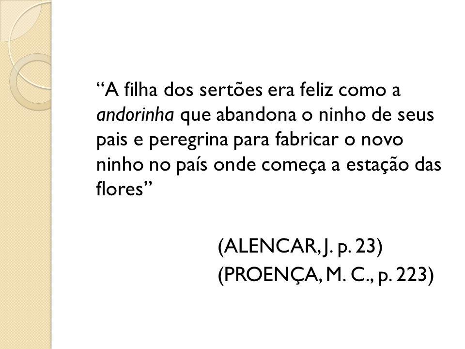 Gonçalves Dias: Quando o cheve timbira manda livrar o prisioneiro, guia velho do tupi: Soltai-o, diz o chefe.