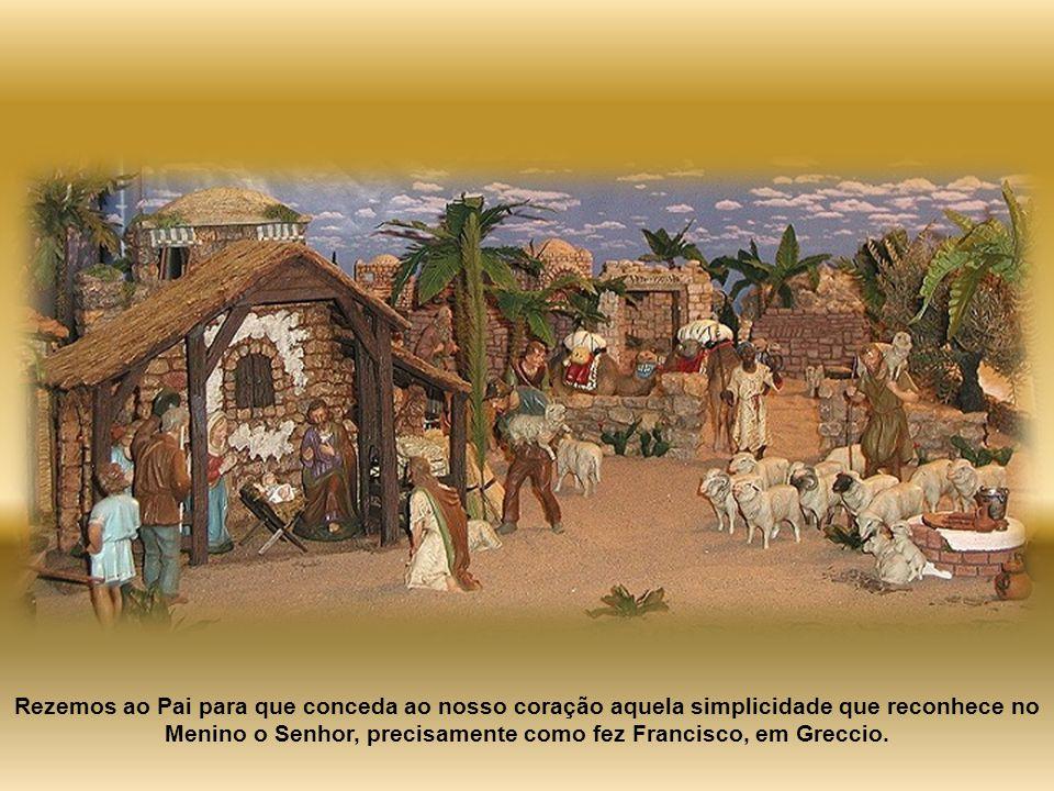 Quem não compreendeu o mistério do Natal, não entendeu o elemento decisivo da existência cristã. Quem não acolhe Jesus com coração de criança, não pod