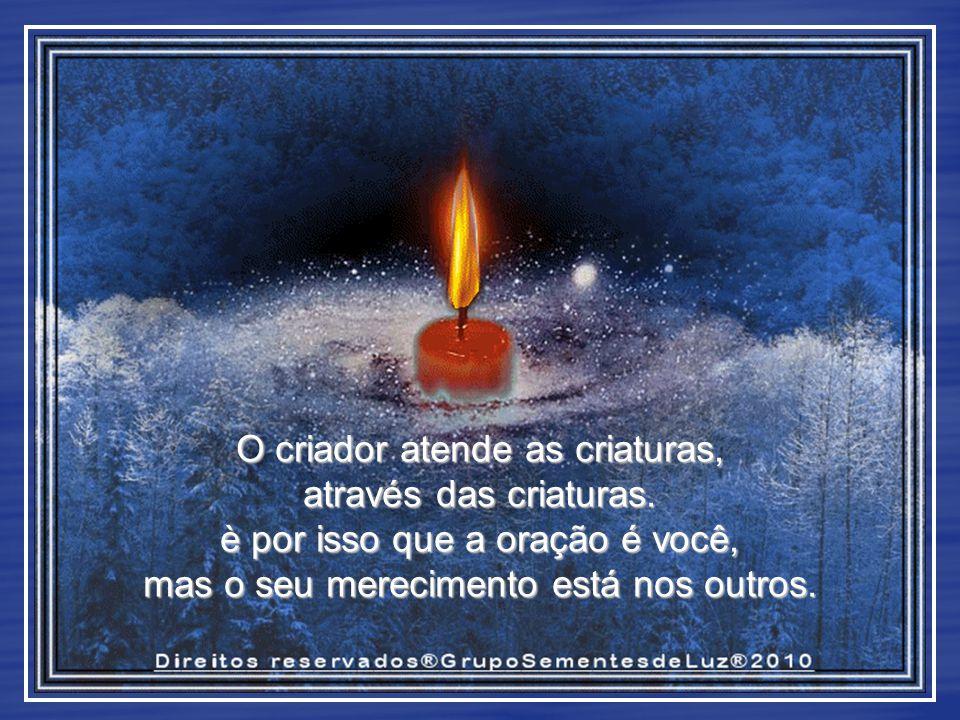 Você é o desejo de seguir para Deus. Mas, entre Deus e você,o próximo é a ponte.