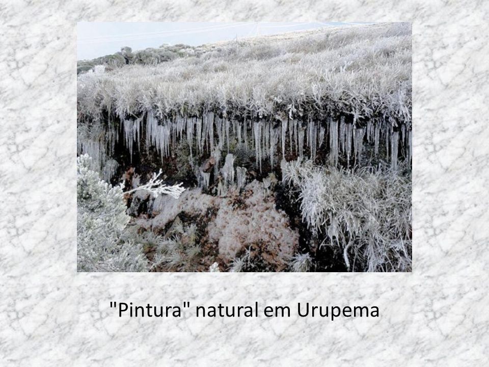 Gelo nos barrancos
