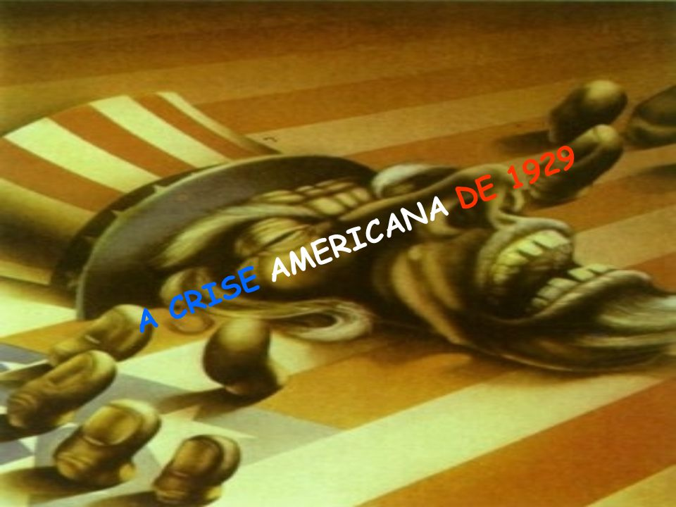 A C R I S E A M E R I C A N A D E 1 9 2 9