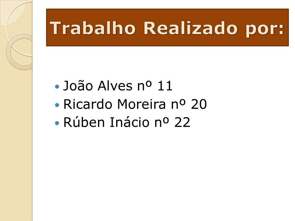 João Alves nº 11 Ricardo Moreira nº 20 Rúben Inácio nº 22