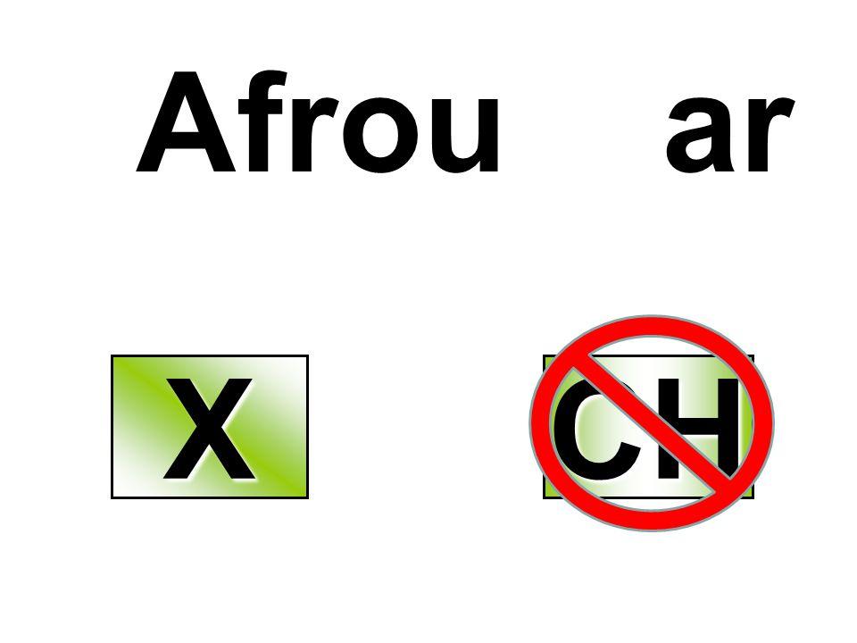 Afrou ar XXXX CH