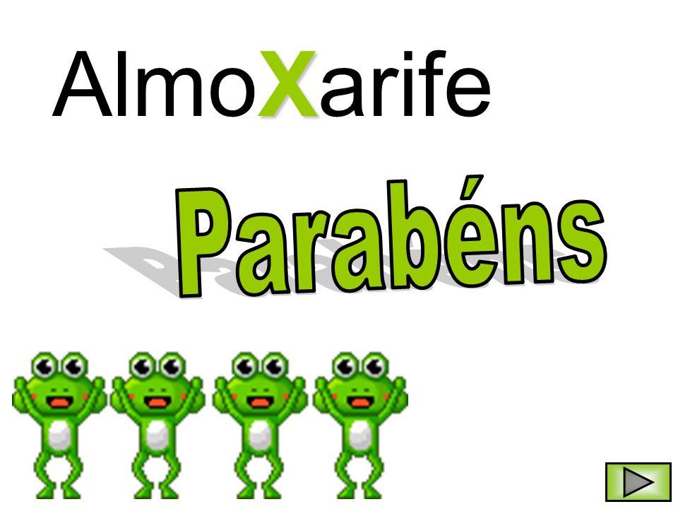 X AlmoXarife