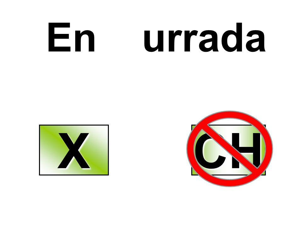 En urrada XXXX CH