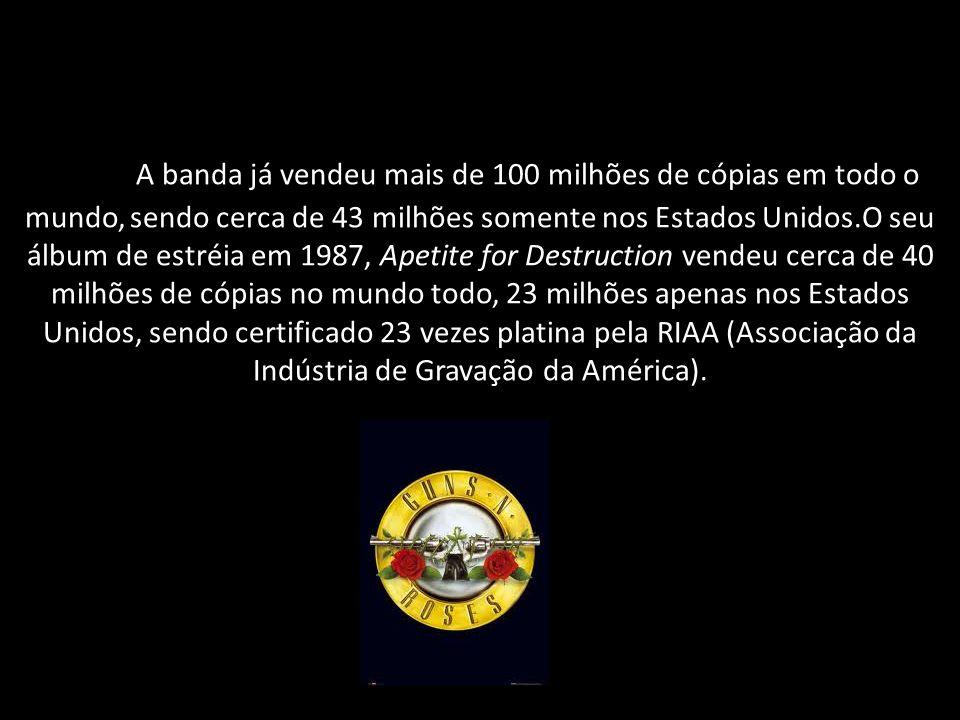 A banda já vendeu mais de 100 milhões de cópias em todo o mundo, sendo cerca de 43 milhões somente nos Estados Unidos.O seu álbum de estréia em 1987,
