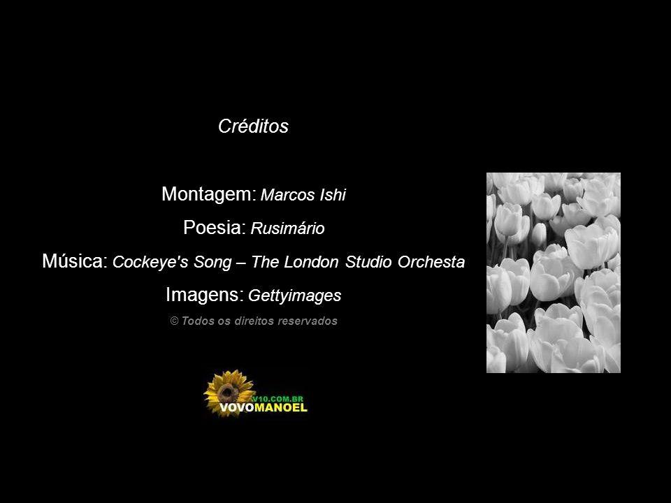 Montagem: Marcos Ishi Poesia: Rusimário Música: Cockeye s Song – The London Studio Orchesta Imagens: Gettyimages © Todos os direitos reservados Créditos