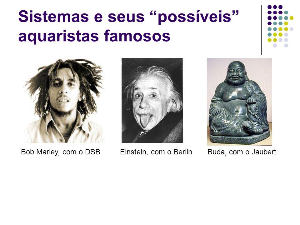 Sistemas e seus possíveis aquaristas famosos Bob Marley, com o DSBEinstein, com o BerlinBuda, com o Jaubert