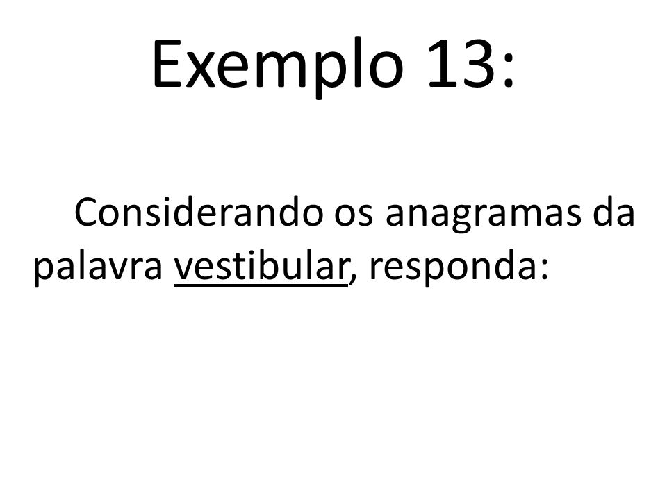 Exemplo ploexem mexeplo pemexol loepemx xopemel..