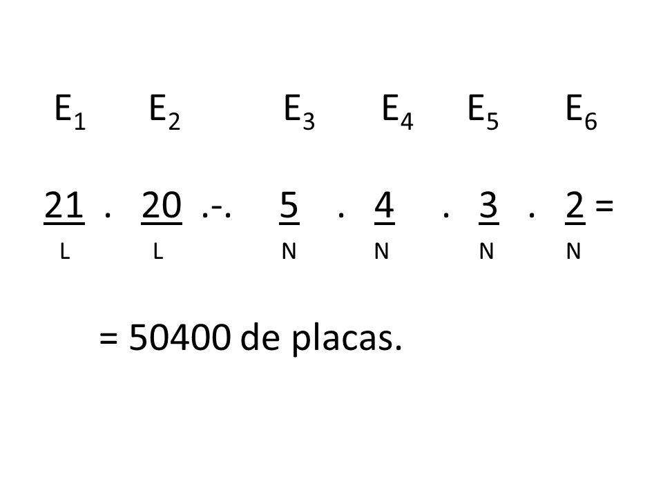 Qual é a probabilidade de minha placa conter consoantes distintas com todos os nºs impares e distintos?