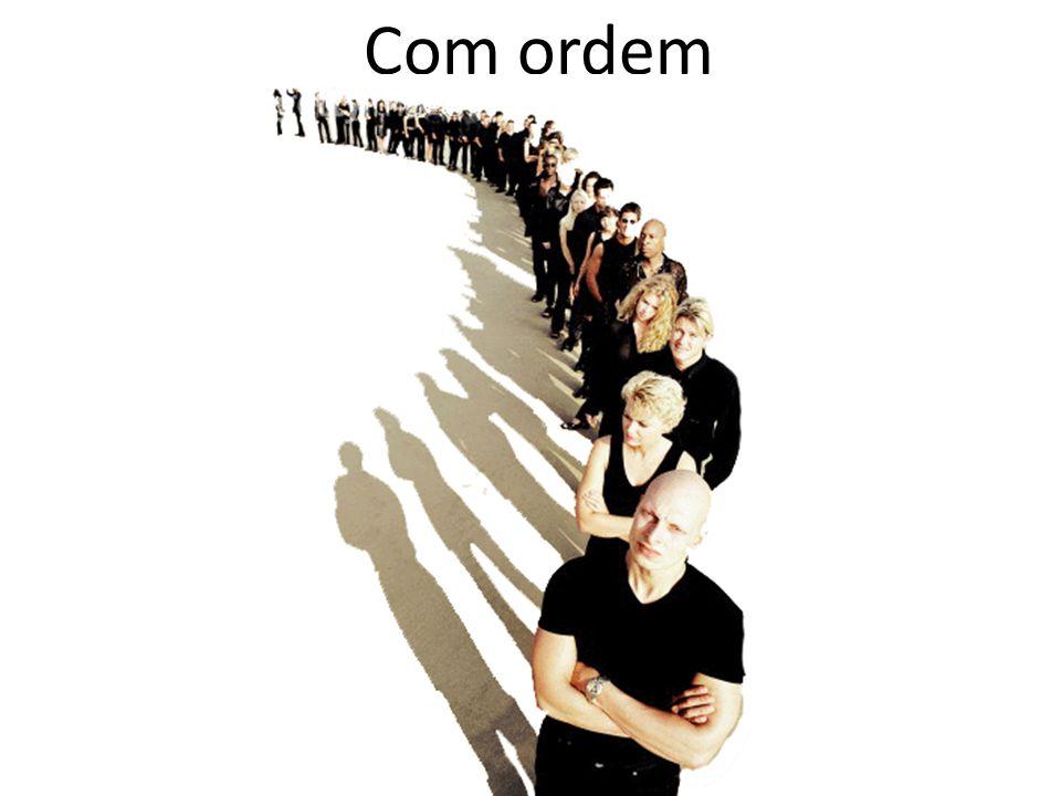 A questão da ordem Todo problema de contagem deve decidir se será...