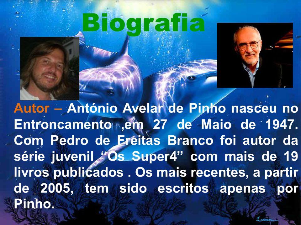 Biografia Autor – António Avelar de Pinho nasceu no Entroncamento,em 27 de Maio de 1947.