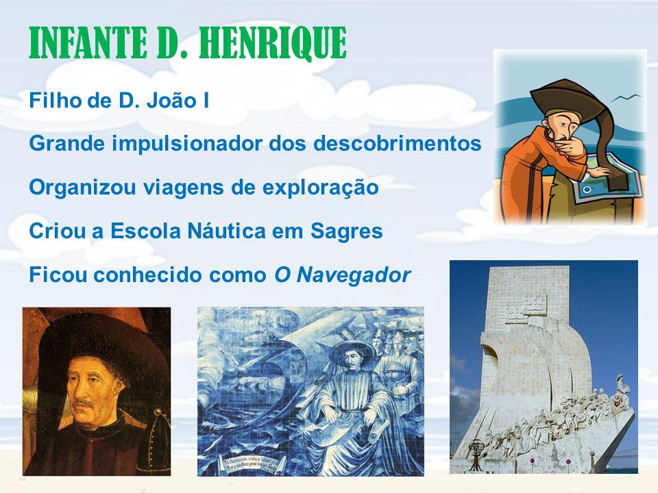 INFANTE D.HENRIQUE Filho de D.