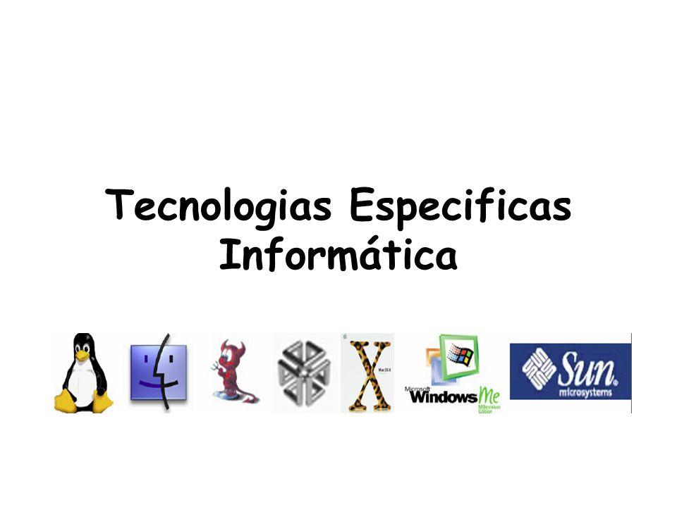 Estrutura e funcionamento de um sistema informático Os sistemas informáticos são constituídos por: Hardware Todos os dispositivos físicos que constituem um sistema informático.