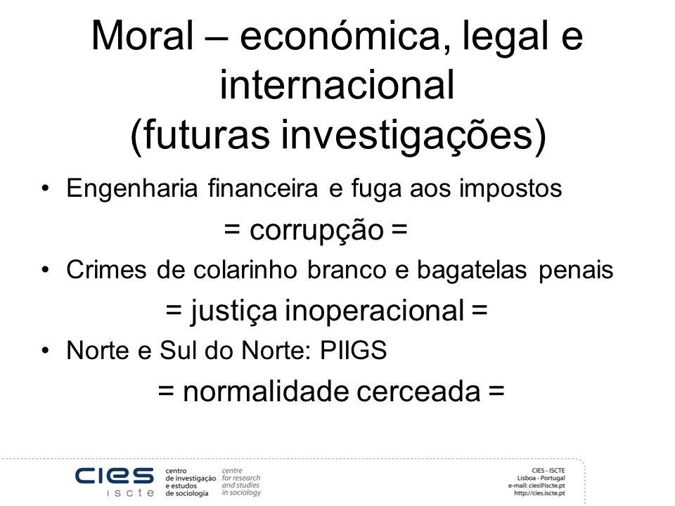 Moral e política Luta de classes ou alianças de classe.