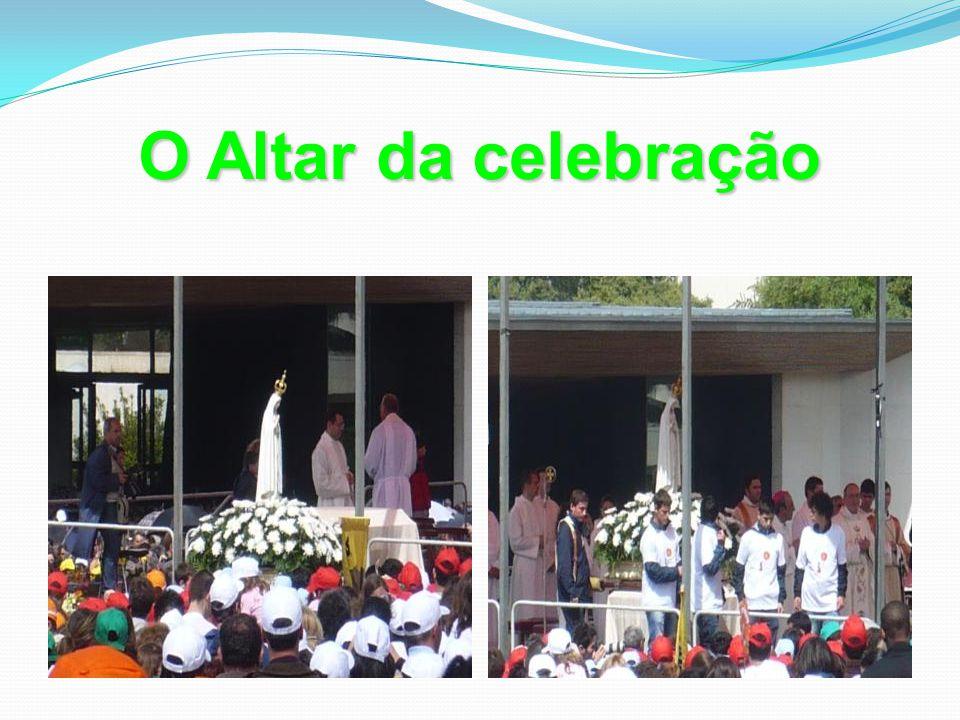 O Altar da celebração