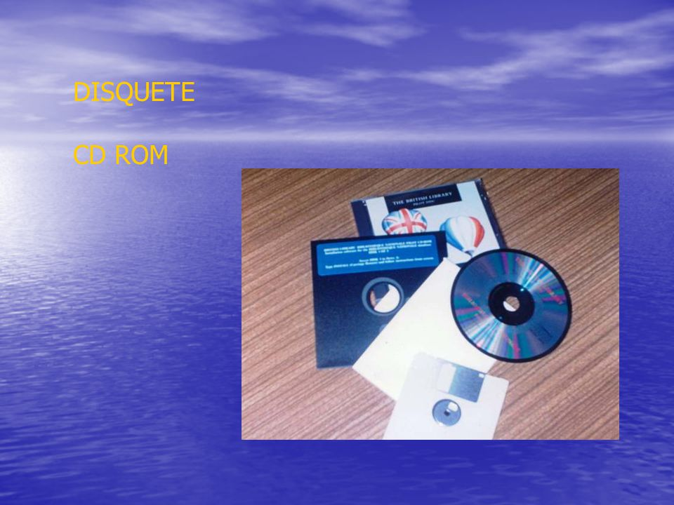 DISQUETE CD ROM