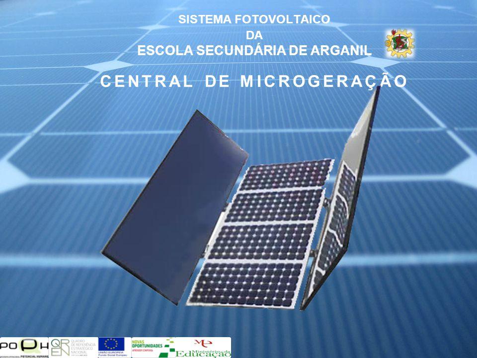 SISTEMA FOTOVOLTAICO DA ESCOLA SECUNDÁRIA DE ARGANIL CENTRAL DE MICROGERAÇÃO
