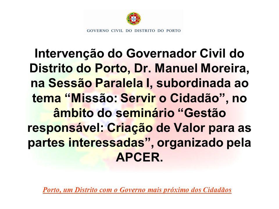 O terceiro pilar materializa-se na prossecução de objectivos de eficiência, tendo em vista a satisfação das necessidades dos cidadãos.