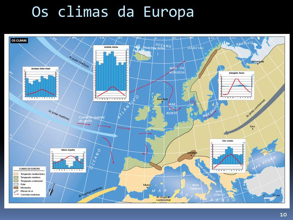 Os climas da Europa 10