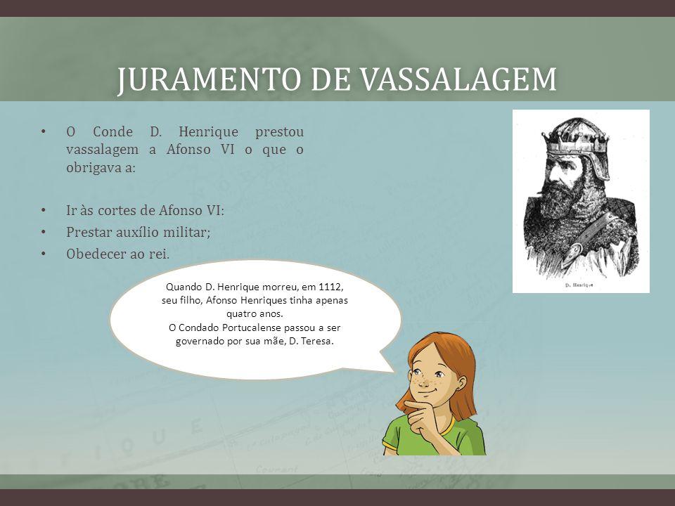 JURAMENTO DE VASSALAGEMJURAMENTO DE VASSALAGEM O Conde D.