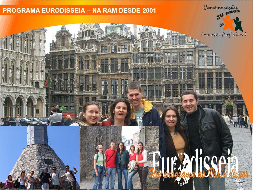 PROGRAMA EURODISSEIA – NA RAM DESDE 2001