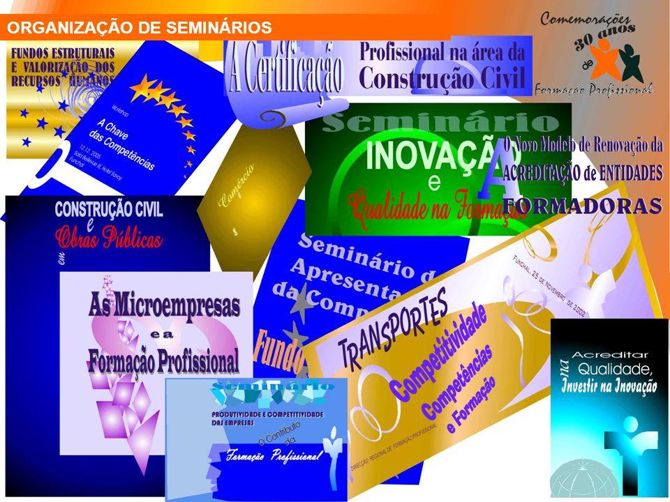 ORGANIZAÇÃO DE SEMINÁRIOS