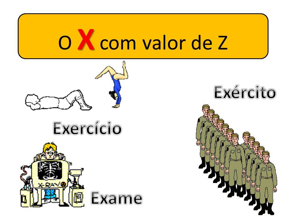 X O X com valor de CH