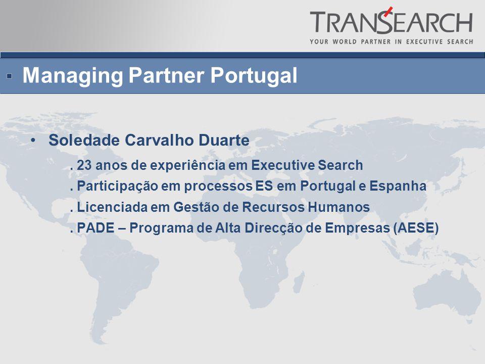 Managing Partner Portugal Soledade Carvalho Duarte.