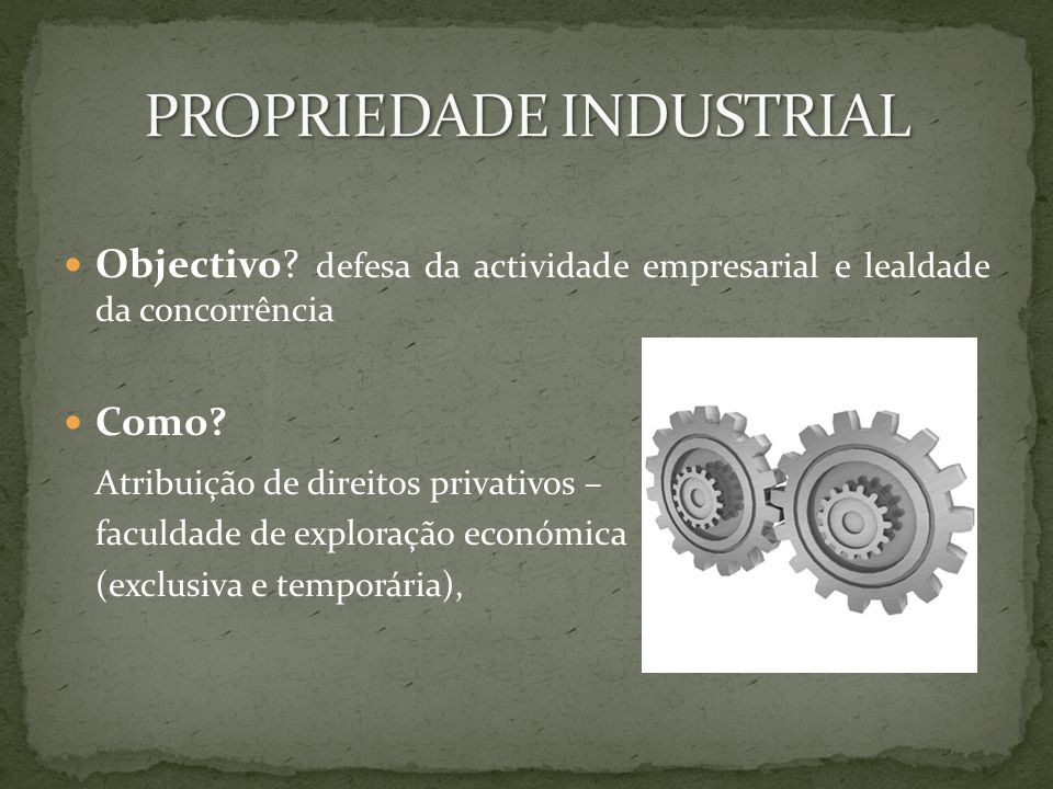 Objectivo. defesa da actividade empresarial e lealdade da concorrência Como.