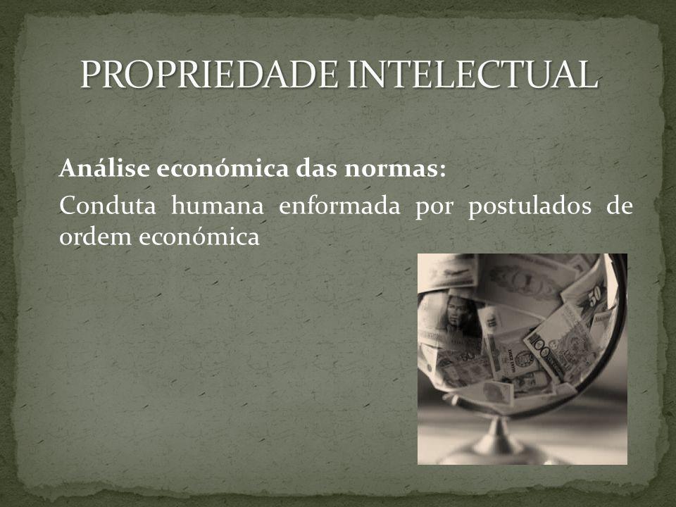 Análise económica das normas: Conduta humana enformada por postulados de ordem económica
