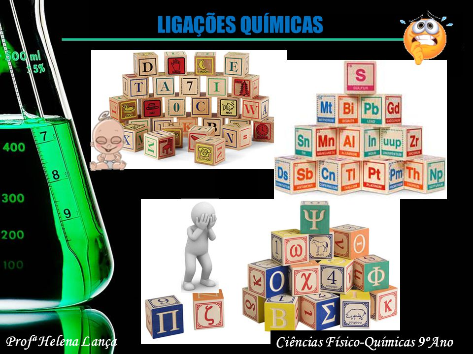 Ciências Físico-Químicas 9ºAno Profª Helena Lança LIGAÇÕES QUÍMICAS