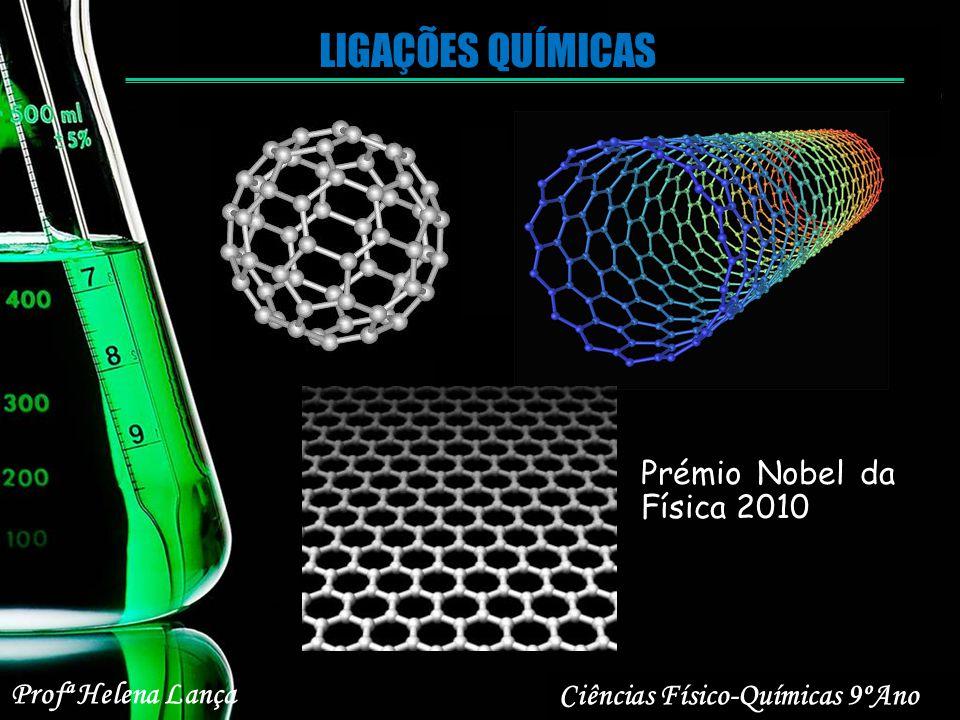 LIGAÇÕES QUÍMICAS Prémio Nobel da Física 2010 Ciências Físico-Químicas 9ºAno Profª Helena Lança