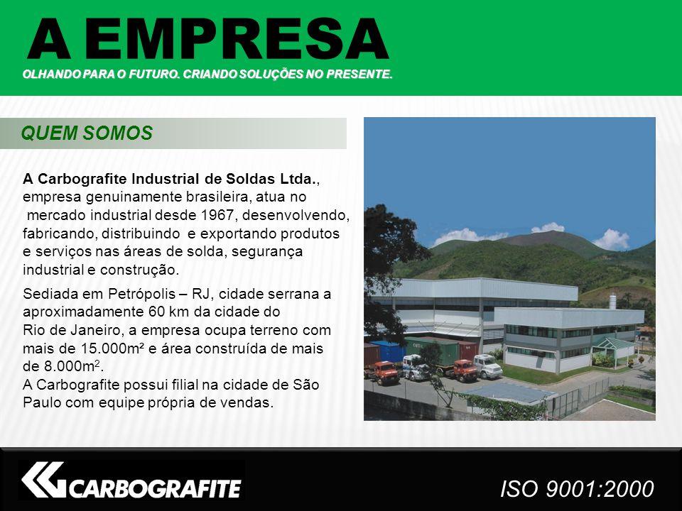 A Carbografite Industrial de Soldas Ltda., empresa genuinamente brasileira, atua no mercado industrial desde 1967, desenvolvendo, fabricando, distribu
